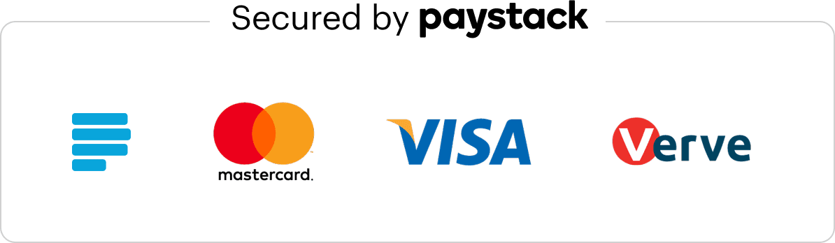 Powered by paystack